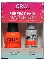 Orly Perfect Pair Matching Lacquer+Gel FX Kit - Life's A Beach - 0.6 oz / 0.3 oz