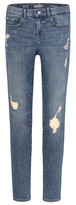 DL1961 Zane Distressed Super Skinny Jeans
