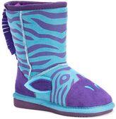 Muk Luks Zebra Kids' Plush Boots