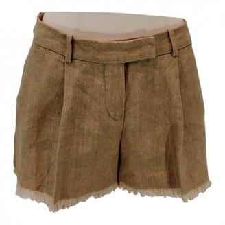 Loro Piana Beige Cloth Shorts for Women