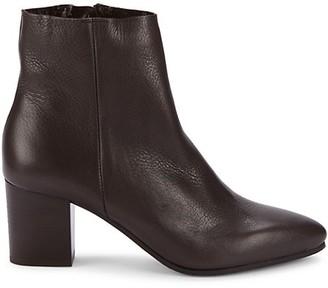 Aquatalia Giana Tumbled Leather Booties