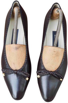 Bally Brown Leather Heels