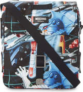 Moschino Small Transformers Print Shoulder Bag