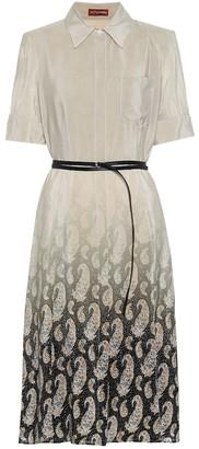 Altuzarra Kieran belted silk dress