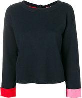 Paul Smith Back Bow Crewneck Sweater