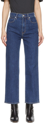 SLVRLAKE Blue London Crop Jeans