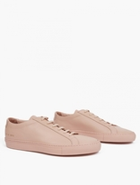 Common Projects Blush Leather Achilles Sneakers