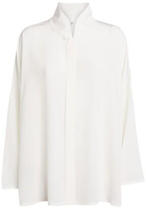 eskandar Silk Floaty Shirt