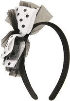 Polka Dot Rock Headband