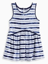 Splendid Little Girl Indigo TieDye Stripe Swing Dress