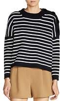 Maje Market Stripe Sweater