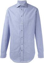 Armani Collezioni fine stripe shirt