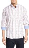 Tailorbyrd Men's 'Carpathian' Plaid Woven Sport Shirt