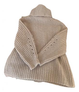 BA&SH Fall Winter 2019 Beige Cashmere Knitwear