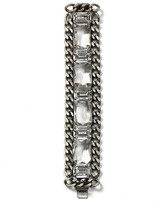 Clear Stone Chain Link Bracelet