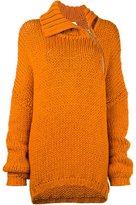 Marques Almeida Marques'almeida woven oversized cardi-coat