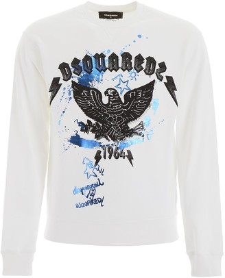 DSQUARED2 Graphic Print Sweater