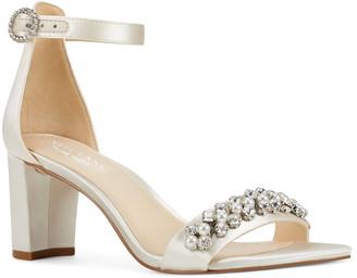 Nine West Passion Embellished Ankle Strap Sandal