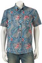 Ocean Current Men's Fantasy Button-Down Shirt