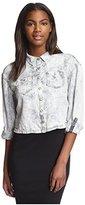 Dittos Women's Carrie Crop Shirt