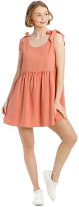 Miss Shop Tie Shoulder Swing Dress