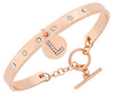 BCBGeneration Say My Name Glass Stone L Toggle Bracelet