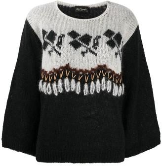 Mes Demoiselles Dirk embroidered jumper