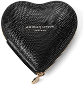 Aspinal of London Leather Heart Coin Purse