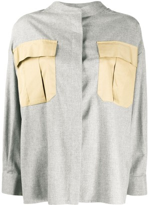 Erika Cavallini Boxy Cotton Shirt