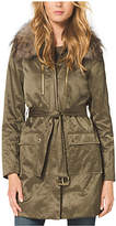 Michael Kors Puffer Coat W/real F