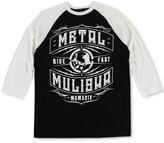 Metal Mulisha Men's Raglan-Style Graphic-Print T-Shirt