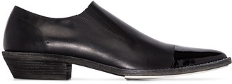 Haider Ackermann Pointed Slip-On Loafers