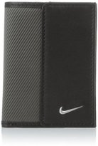 Nike Men's Leather Tech Twill Credit Card Fold