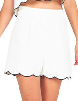 KENDALL + KYLIE Blended Pull-On Shorts
