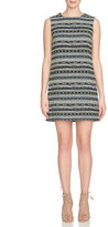 Cynthia Steffe Sleeveless Geometric Jacquard Shift Dress