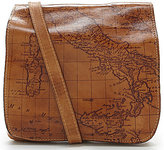 Patricia Nash Signature Map Collection Granada Cross-Body Bag