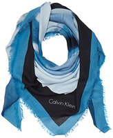Calvin Klein Women's M4rissa Print Large Scarf Neckerchief