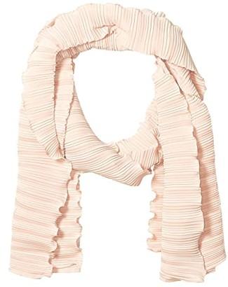 Madewell Dip-Dye Gingham Scarf (Warm Nutmeg Multi) Scarves