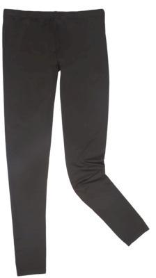 Cuddl Duds Warm Essentials by Women's Plus-Size Active Legging Black