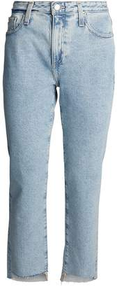AG Jeans Isabelle Cropped Straight Jeans