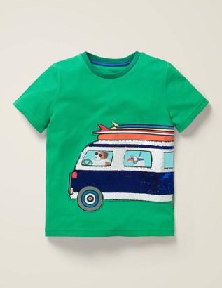Colour-Change Sequin T-Shirt