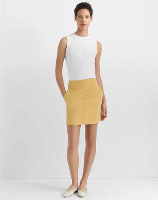 Club Monaco Paneled Mini Skirt