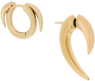 Shaun Leane Talon and Thorned Hoop set of earrings