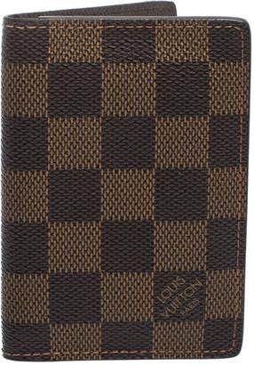 Louis Vuitton Damier Canvas Bifold Card Holder
