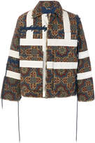 Craig Green tile-print quilted jacket