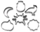 Nordicware Halloween Stainless Steel Six-Piece Cookie Cutter Set