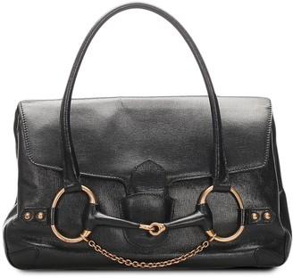 Gucci Pre-Owned Large Horsebit Tote Bag