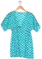 Milly Minis Girls' Printed Short Sleeve Dress