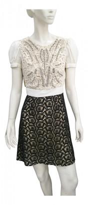 Elisabetta Franchi Multicolour Lace Dresses