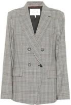 Frame Boyfriend cotton and linen blazer